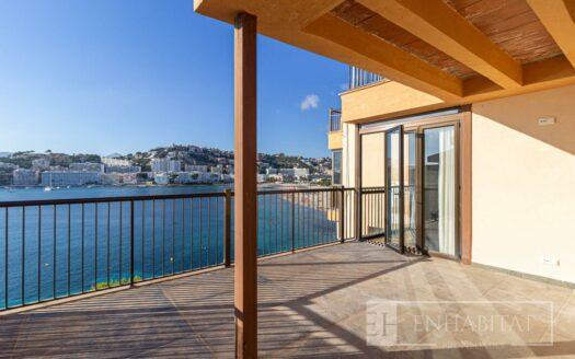 ATICO EN SANTA PONÇA  CON VISTAS AL MAR - Inmobiliaria en Mallorca